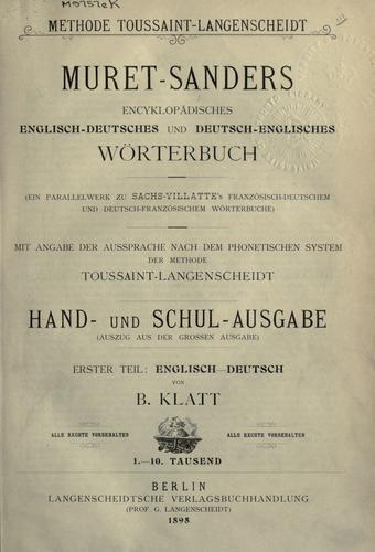 Download Encyclopaedic English-German and German-English dictionary