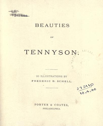 Download Beauties of Tennyson.