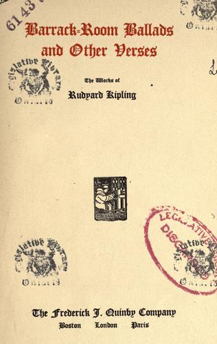 Download The works of Rudyard Kipling.