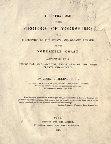 Download Illustrations of the geology of Yorkshire