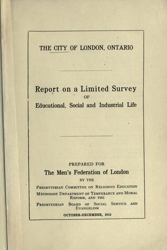 Download The city of London, Ontario