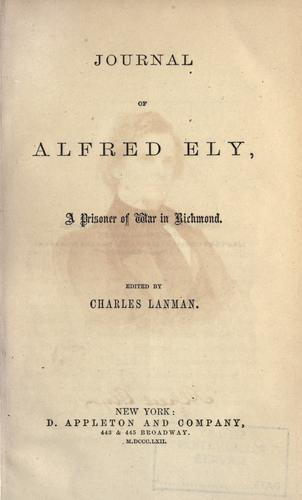 Download Journal of Alfred Ely