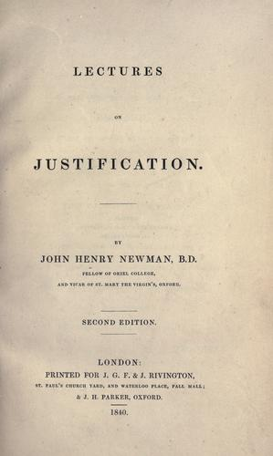 Download Lectures on justification