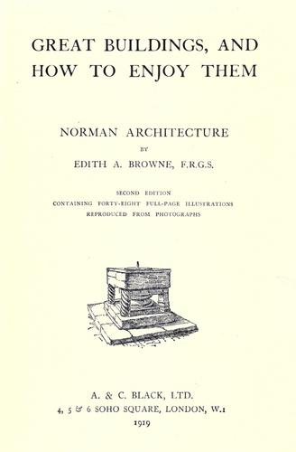 Download Norman architecture.
