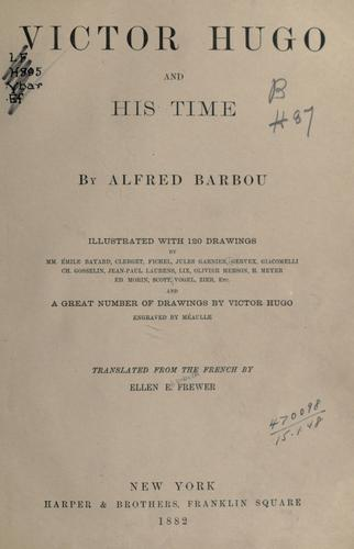 Download Victor Hugo and his time.