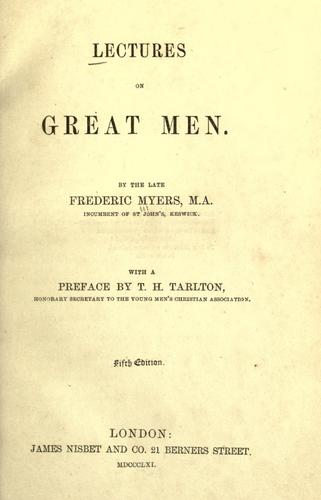 Download Lectures on great men