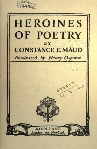 Heroines of poetry.