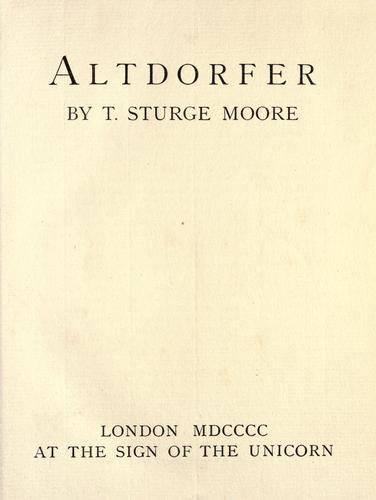Download Altdorfer