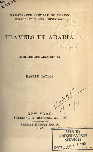 Download Travels in Arabia.