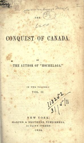 Download The conquest of Canada