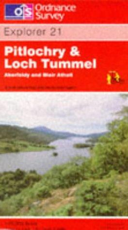 Pitlochry and Loch Tummel by Ordnance Survey
