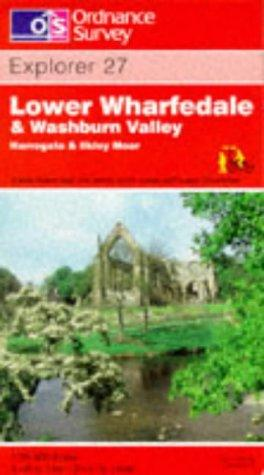 Lower Wharfedale and Washburn Valley (Explorer Maps)