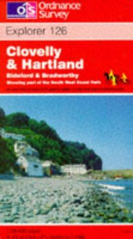 Clovelly and Hartland (Explorer Maps)