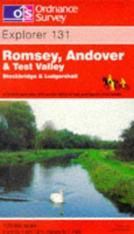 Download Romsey, Andover and Test Valley (Explorer Maps)