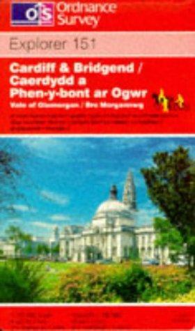 Cardiff and Bridgend/Caerdydd a Phen-y-bont Ar Ogwr (Explorer Maps)