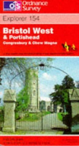 Bristol West and Portishead (Explorer Maps)