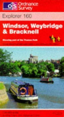 Download Windsor, Weybridge and Bracknell (Explorer Maps)