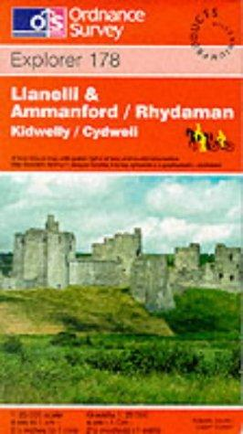 Download Llanelli and Ammanford/Rhydaman (Explorer Maps)