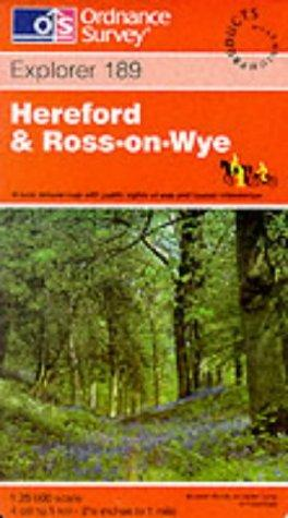 Hereford and Ross-on-Wye (Explorer Maps)