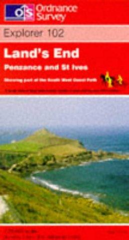 Download Land's End, Penzance and St.Ives (Explorer Maps)