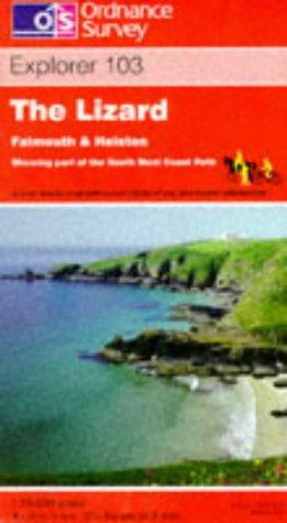 Download The Lizard, Falmouth and Helston (Explorer Maps)
