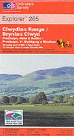 Download Clwydian Range (Explorer Maps)