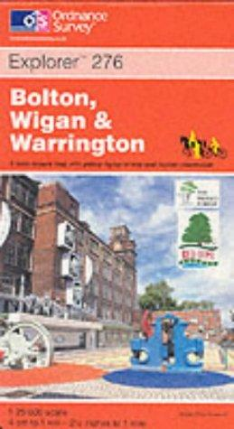 Download Bolton, Wigan and Warrington (Explorer Maps)