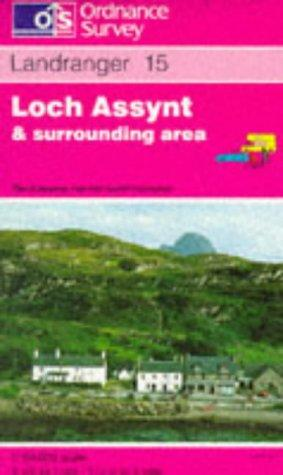 Loch Assynt, Lochinver and Kylesku (Landranger Maps)