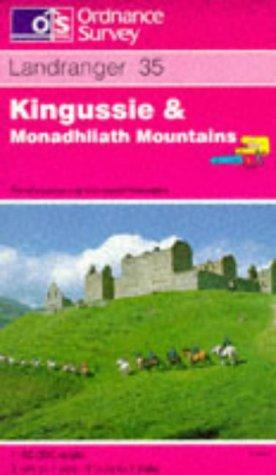 Download Kingussie and Monadhliath Mountains (Landranger Maps)