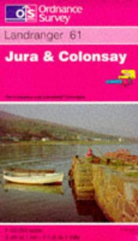 Jura and Colonsay (Landranger Maps)
