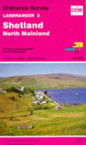 Shetland – North Mainland (Landranger Maps)