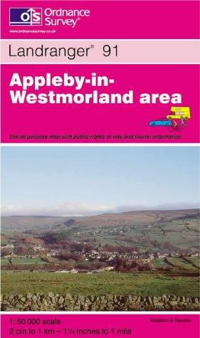 Appleby-in-Westmorland (Landranger Maps)