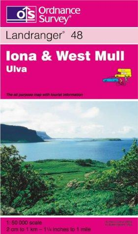 Iona and West Mull, Ulva (Landranger Maps)