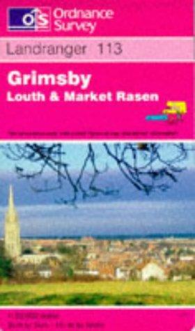 Grimsby, Louth and Market Rasen (Landranger Maps)