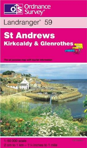Download St.Andrews, Kirkcaldy and Glenrothes (Landranger Maps)