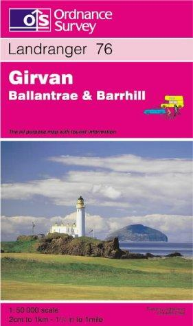 Download Girvan, Ballantrae and Barrhill (Landranger Maps)