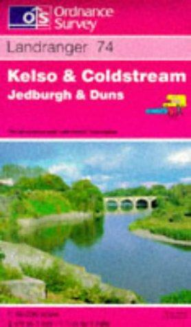Kelso and Coldstream, Jedburgh and Duns (Landranger Maps)