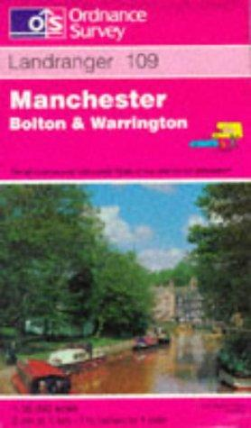 Manchester, Bolton and Warrington (Landranger Maps)