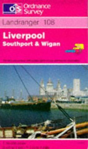 Liverpool Southport Wigan (Landranger Maps)