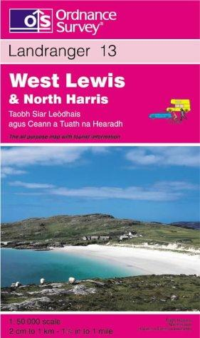 Download West Lewis and North Harris (Landranger Maps)