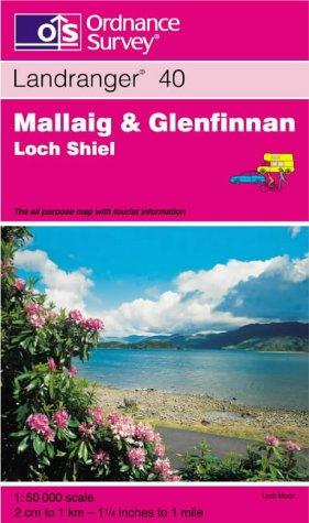 Download Mallaig and Glenfinnan, Loch Shiel (Landranger Maps)