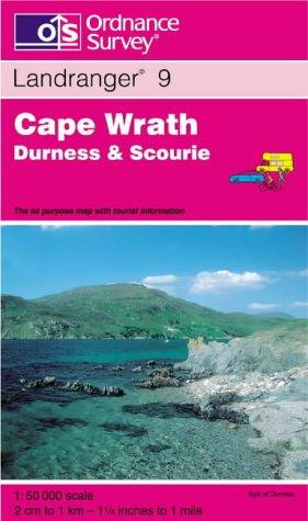 Download Cape Wrath, Durness and Scourie (Landranger Maps)