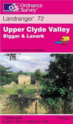 Download Upper Clyde Valley, Biggar and Lanark (Landranger Maps)