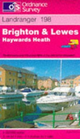 Download Brighton and Lewes, Haywards Heath (Landranger Maps)