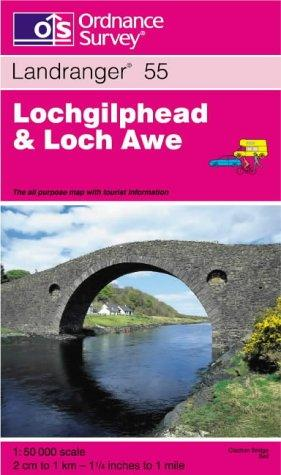 Lochgilphead and Loch Awe (Landranger Maps)