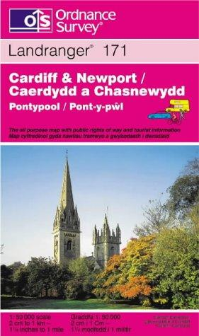 Cardiff and Newport, Pontypool (Landranger Maps)