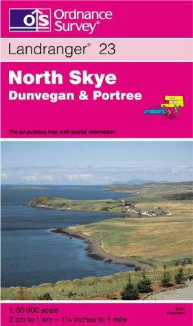Download North Skye, Dunvegan and Portree (Landranger Maps)