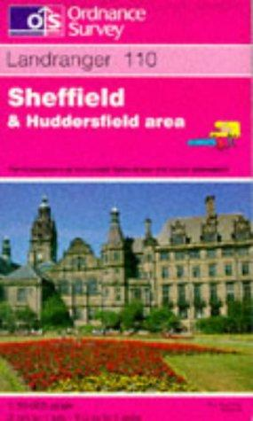 Sheffield and Huddersfield, Glossop and Holmfirth (Landranger Maps)
