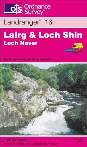 Download Lairg and Loch Shin, Loch Naver (Landranger Maps)