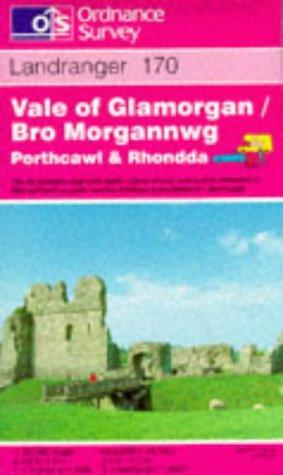 Vale of Glamorgan, Rhondda and Porthcawl (Landranger Maps)